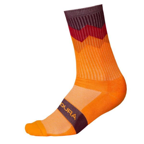 Zacken Socken - Mandarine