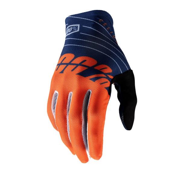 Celium Handschuhe - Marineblau/Orange