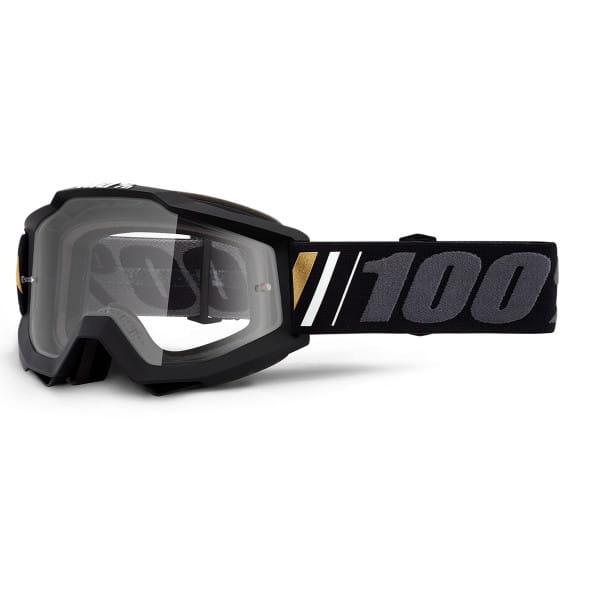 Accuri Goggles Anti Fog Clear Lens - Schwarz/Grau