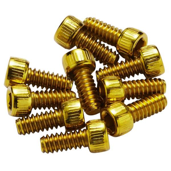 Ersatz Pins für Escape Pro+Black ONE Stahl - gold