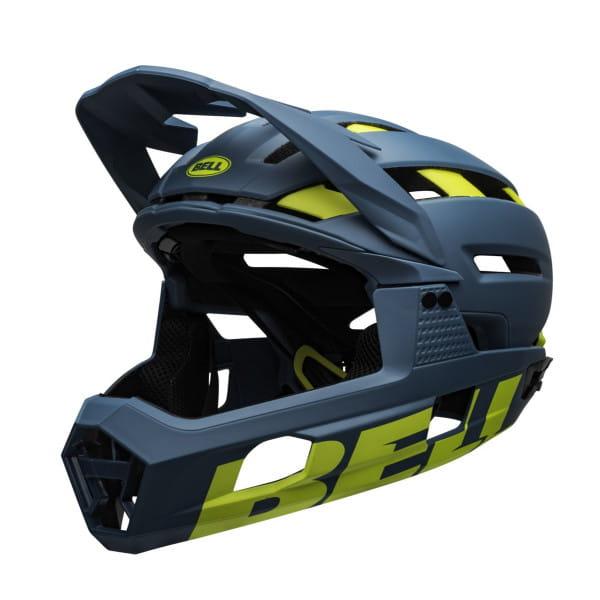 Super Air R Mips Fahrradhelm - Blau/Grün