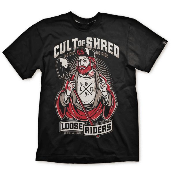 T-Shirt Lord of Shred - Schwarz/Weiß