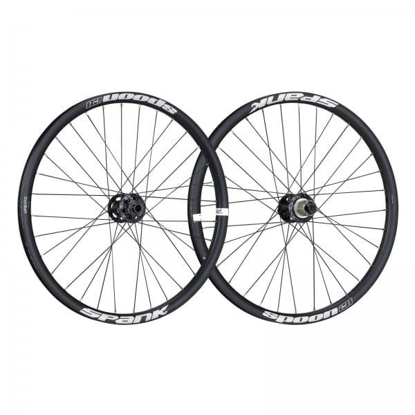 Spoon28 24 Zoll Kinder Laufradsatz - schwarz