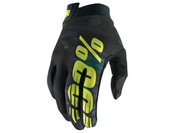 iTrack Glove - Schwarz/Grün