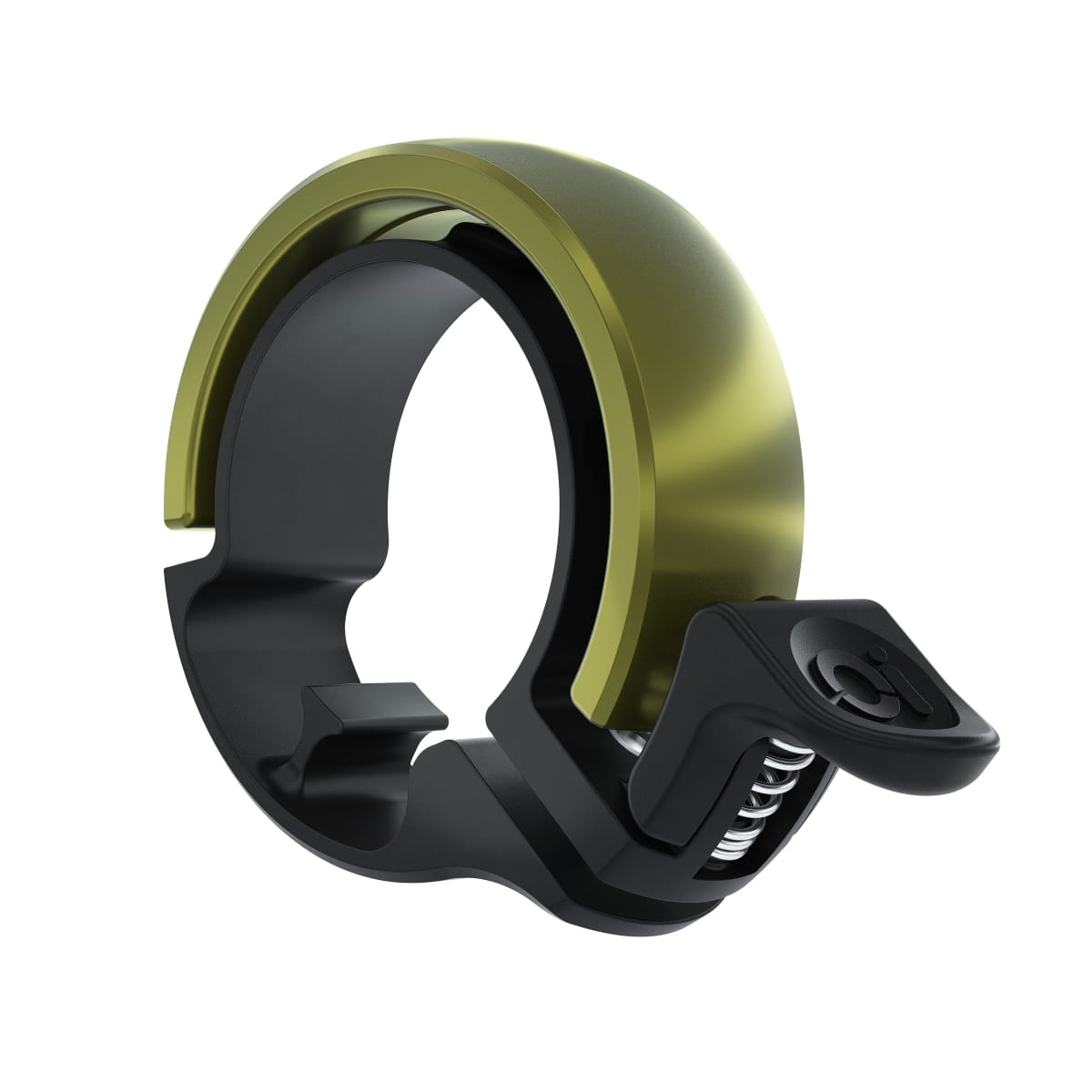 Knog Oi classique large invisible Bicycle Black Bell 23.8mm-31.8mm