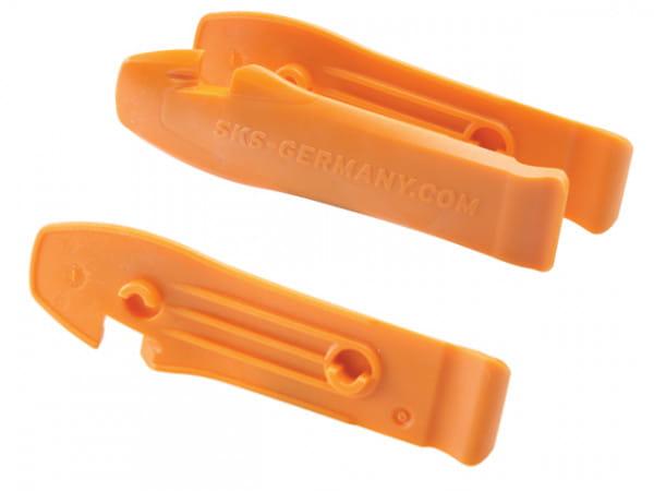 Reifenheber Paar Orange
