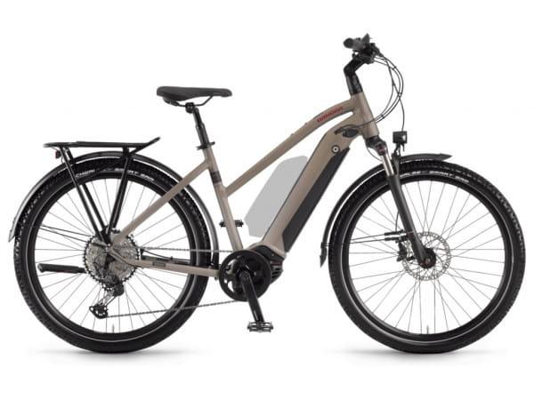 Sinus iX12 i500Wh 12-G XT - Trapez 27,5 Zoll E-Bike - Hellbraun/Schwarz