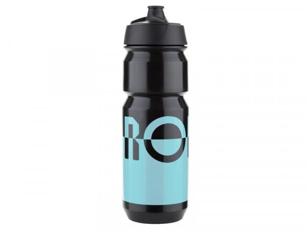 Bidon Trinkflasche 750ml - blue/black - 2 Flaschen