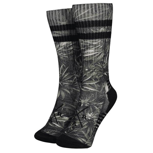 """Socken """"Haze"""" - Grün/Schwarz"""