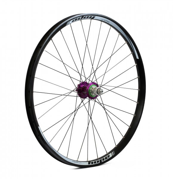 Tech DH-Pro 4 Rear Wheel - purple