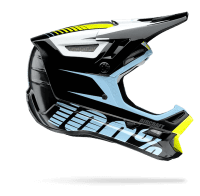 Aircraft DH Helm incl. Mips - Schwarz/Hellblau/Gelb