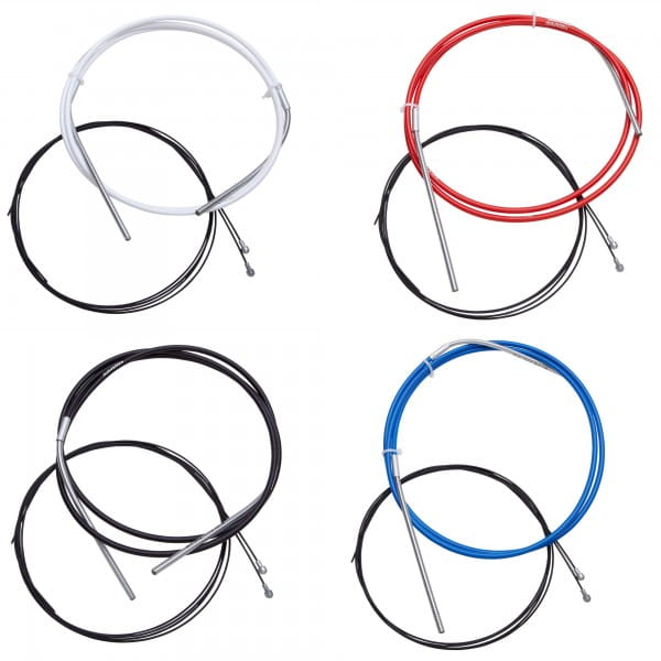SlickWire MTB Bremszugset 5mm - farbig