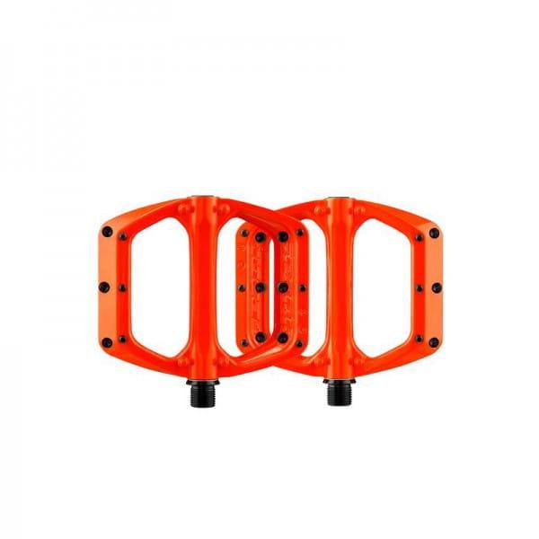 Spoon DC Flat Pedals - Orange
