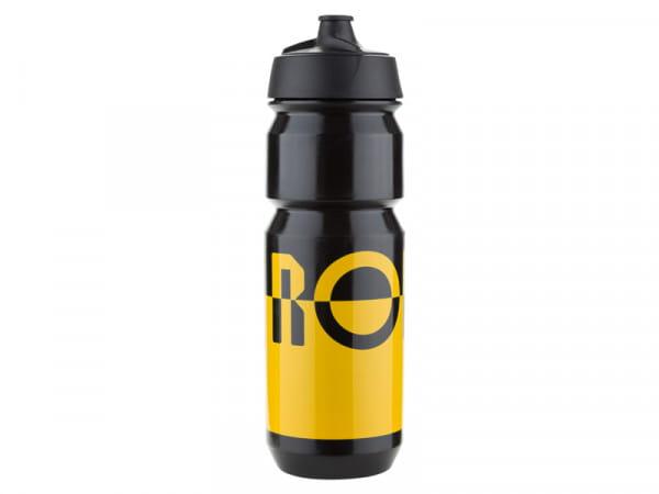 Bidon Trinkflasche 750ml - yellow/black - 2 Flaschen