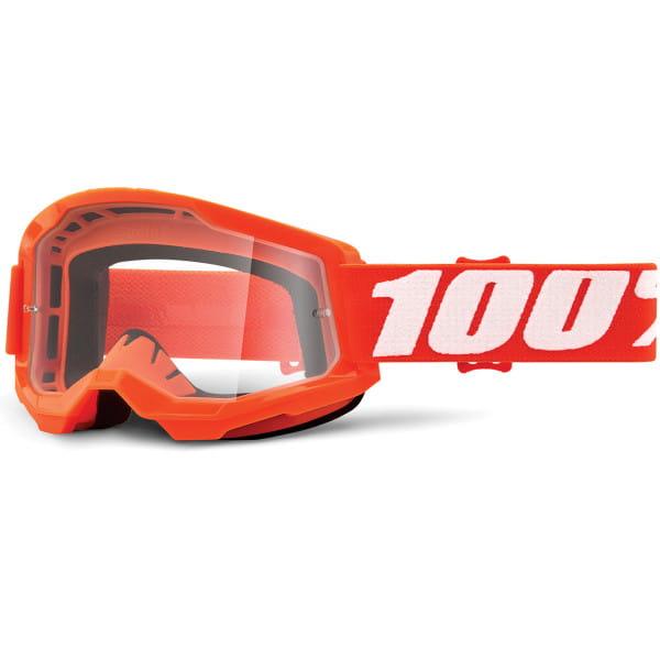 Strata Gen.2 anti fog Brille Clear - Orange