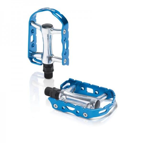 PD-M15 Retro Rennrad Pedal - Blau