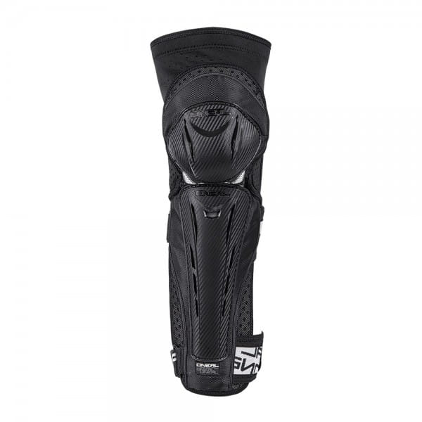 Park FR Carbon Look Knee Guard - black/white