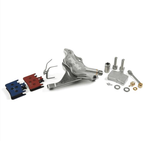 RX4 Bremssattel Flatmount Complete vorn - Sram - Silber
