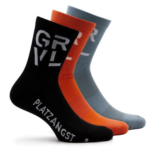 GRVL Socken 3er Set