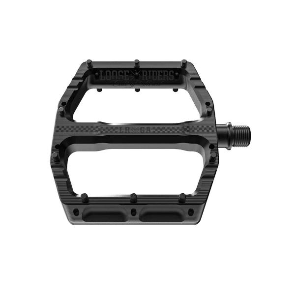 Flatpedale Premium Black  - Schwarz