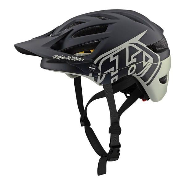A1 Classic Mips Helm - Schwarz/Grau