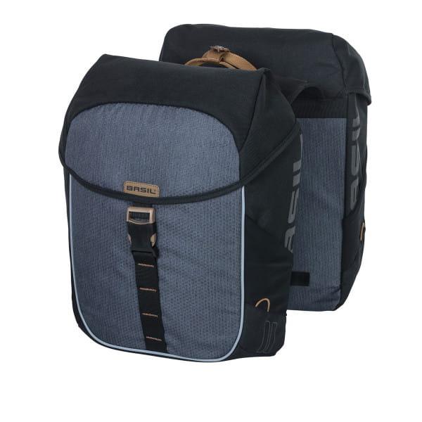 Double bag Miles gray - 32 liters