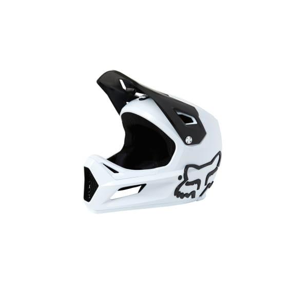 Rampage CE - Fullface Helm - Weiß