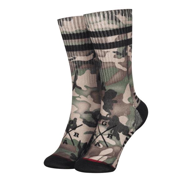 Technical Socken - Camo Forest