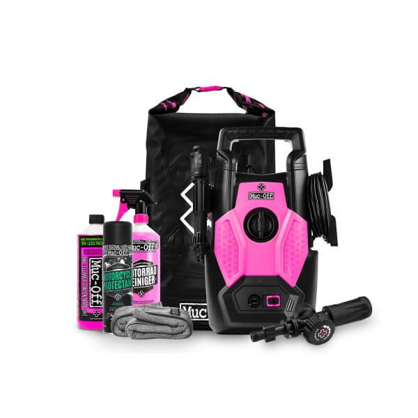 """Hochdruckreiniger """"Pressure Washer Moto """" Set - Schwarz/Pink"""