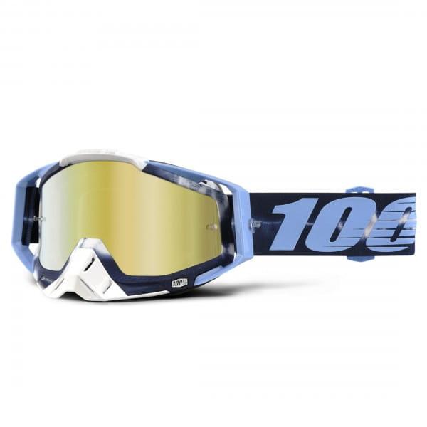 Racecraft Premium MX Goggle - TieDye Mirror Lens