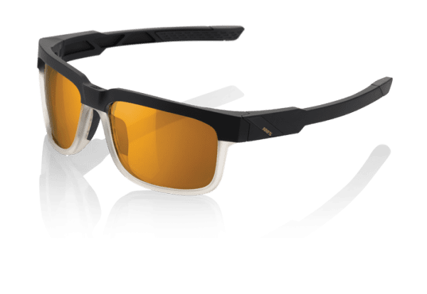 Type S Sonnenbrille - Bronze PeakPolar Lens - Soft Tact Licorice