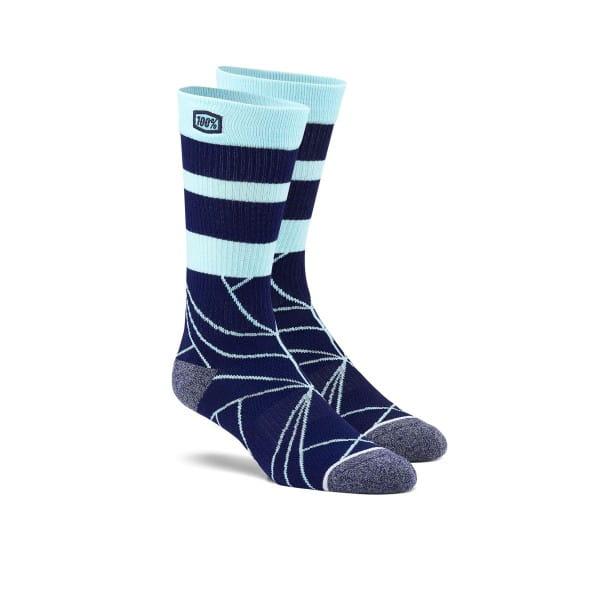 Fracture Socken - Navy