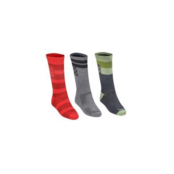 Triplet Socken Multicolor - 3 Paar