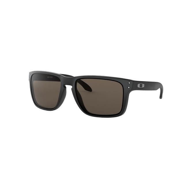 Holbrook XL Sonnenbrille Matt Schwarz - Warm Grau