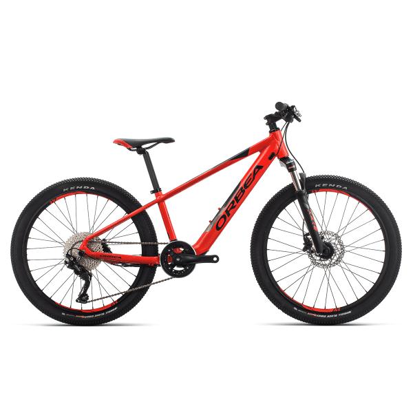 eMX 24 Kinder E-bike 24 Zoll - Schwarz/Rot