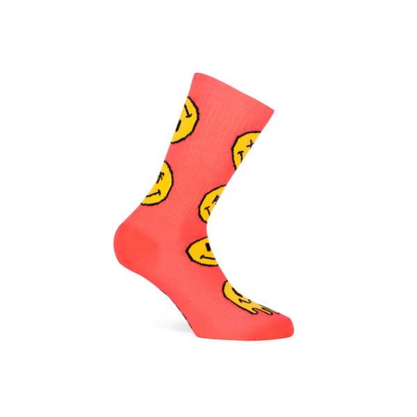 Socken Smiley - Rot