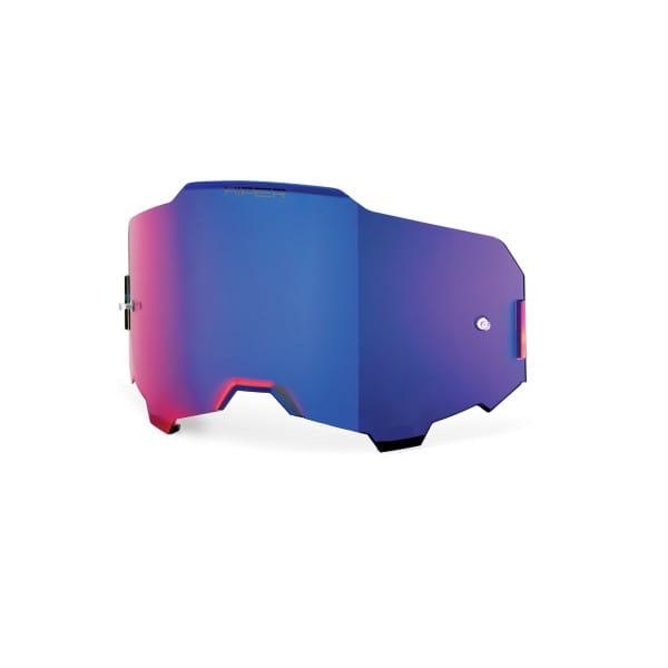 Armega HiPER Anti-Fog Ersatzlinse - Blau verspiegelt