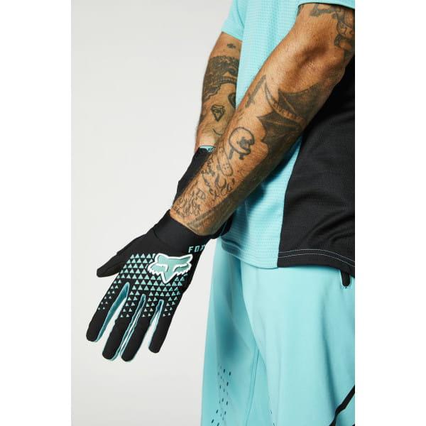 Defend - Handschuhe - Teal - Schwarz/Blau/Weiß