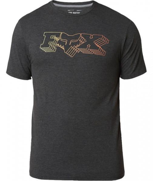 Cosmic Fox-Head-X Tech T-Shirt - Schwarz