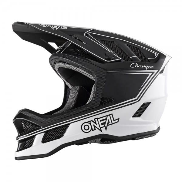Blade Hyperlite Helmet Charger - Fullface-Helm - Schwarz/Weiß
