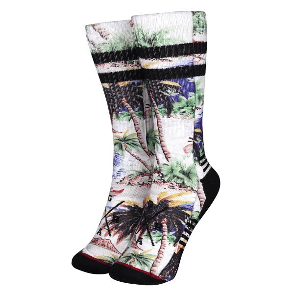 "Socken ""Tahiti"" - Weiß/Multi"