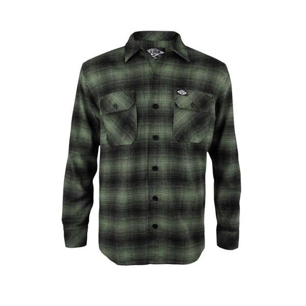 Flannel Hemd - Grün
