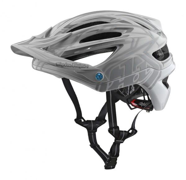 A2 Helm Mips Pinstripe - Grau