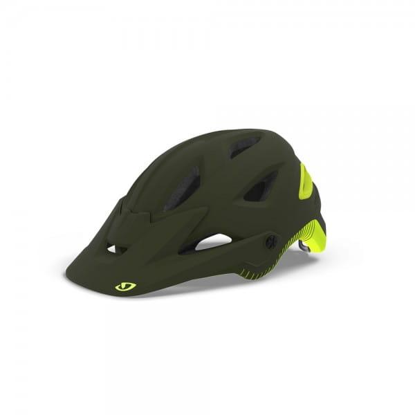 Montaro Mips Helm - Olive/Gelb