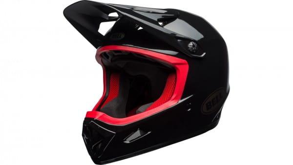 Transfer-9 Helm - black/hibiscus