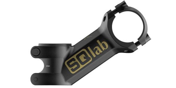 8OX Trial Fabio Wibmer - Vorbau - Schwarz/Gold