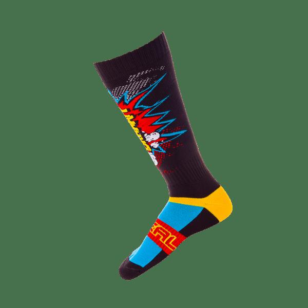 Pro MX Socks - Braaapp - black/multi