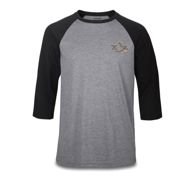 Alpine Raglan - 3/4 Tech T-Shirt - Schwarz