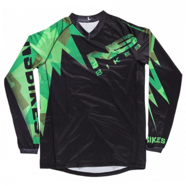 Bolt Enduro Jersey Black Camo
