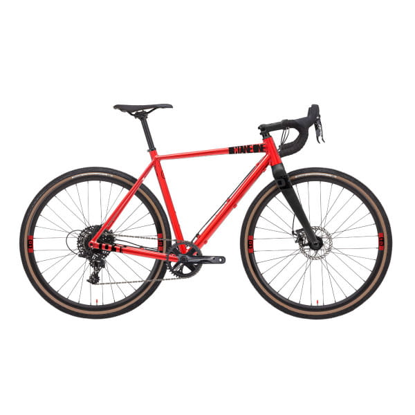 Gridd 2 Gravelbike - Rot
